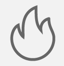 icon of a flame
